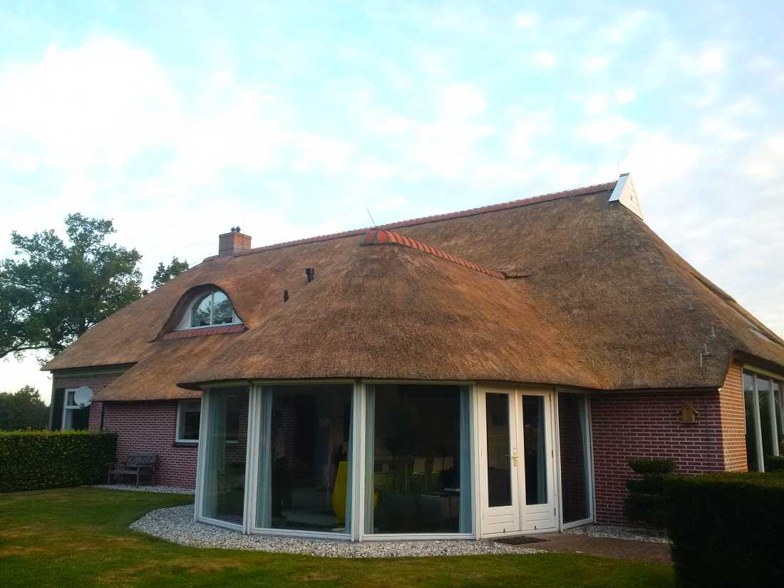 Foxwolde - Onderhoud rieten dak